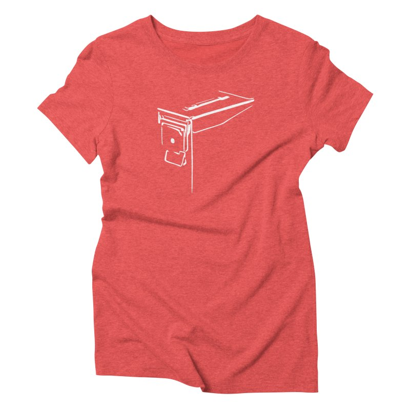 Ammo Can Silo Women's Triblend T-Shirt by Geocaching Podcast Store