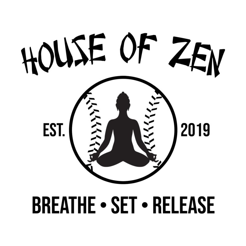 House of Zen baseball Women's Tank by Geocaching Podcast Store