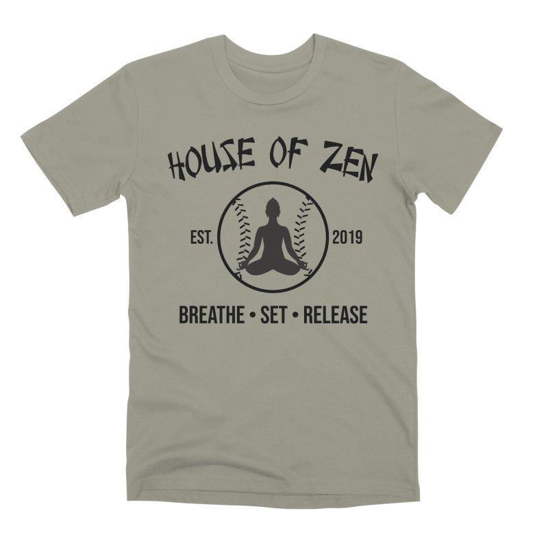 House of Zen baseball Men's Premium T-Shirt by Geocaching Podcast Store