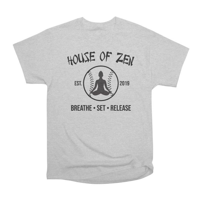 House of Zen baseball Men's Heavyweight T-Shirt by Geocaching Podcast Store