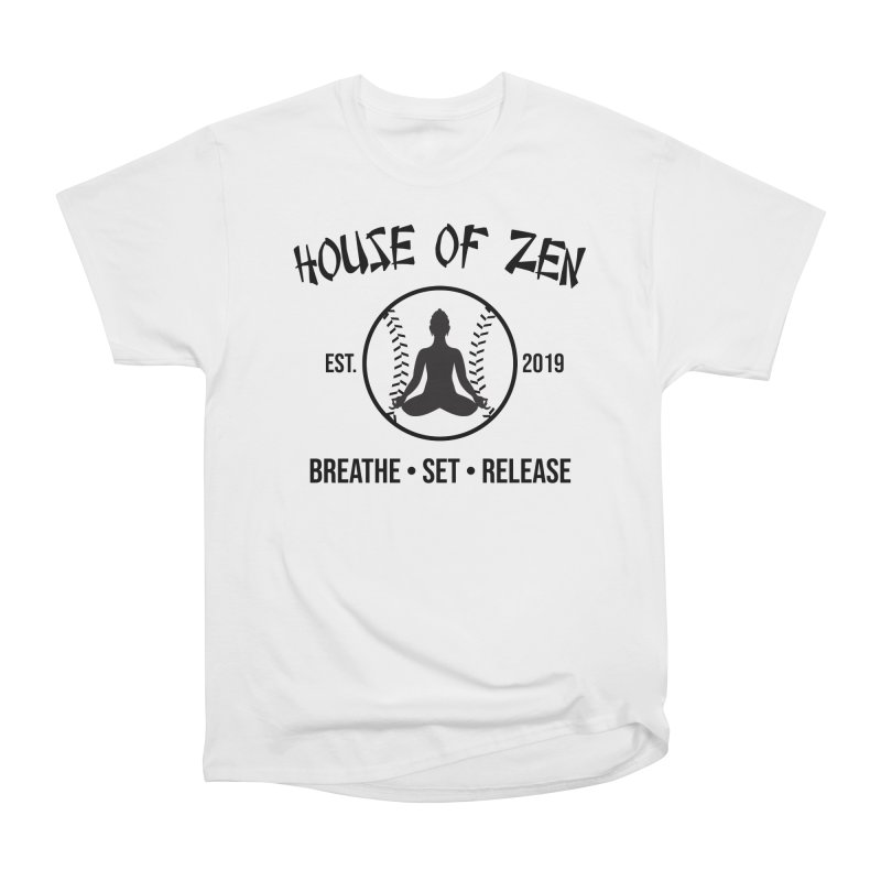 House of Zen baseball Women's T-Shirt by Geocaching Podcast Store