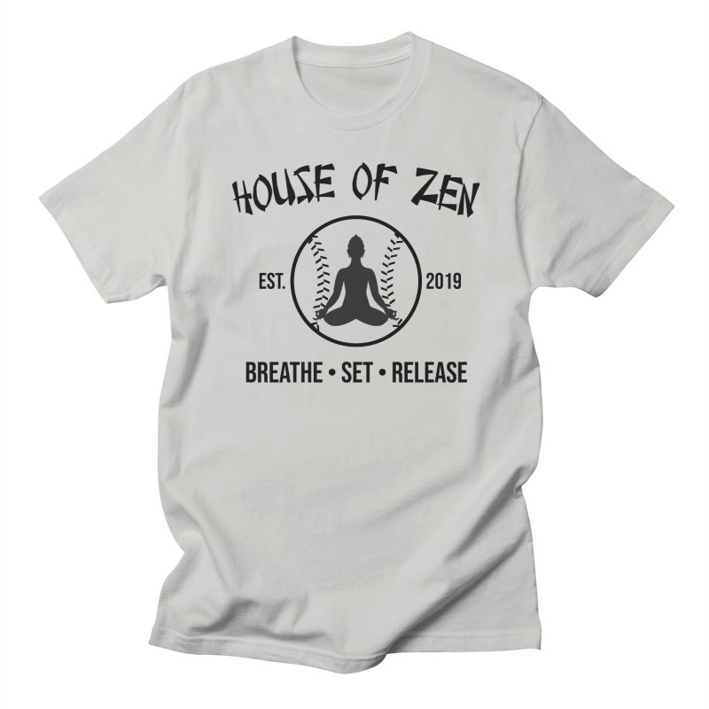 House of Zen baseball Men's T-Shirt by Geocaching Podcast Store