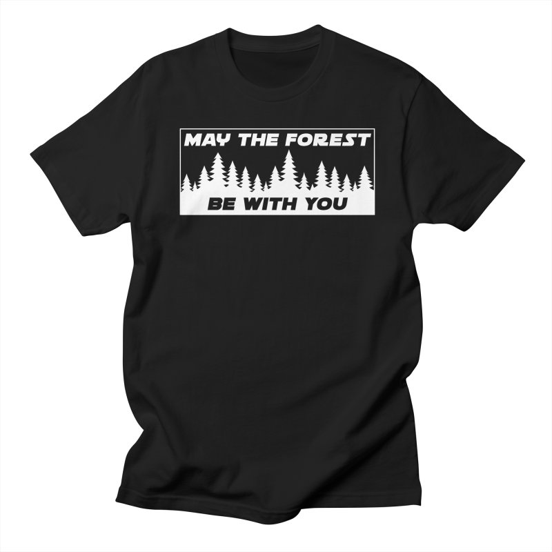 May the Forest Be With You Men's T-Shirt by Geocaching Podcast Store
