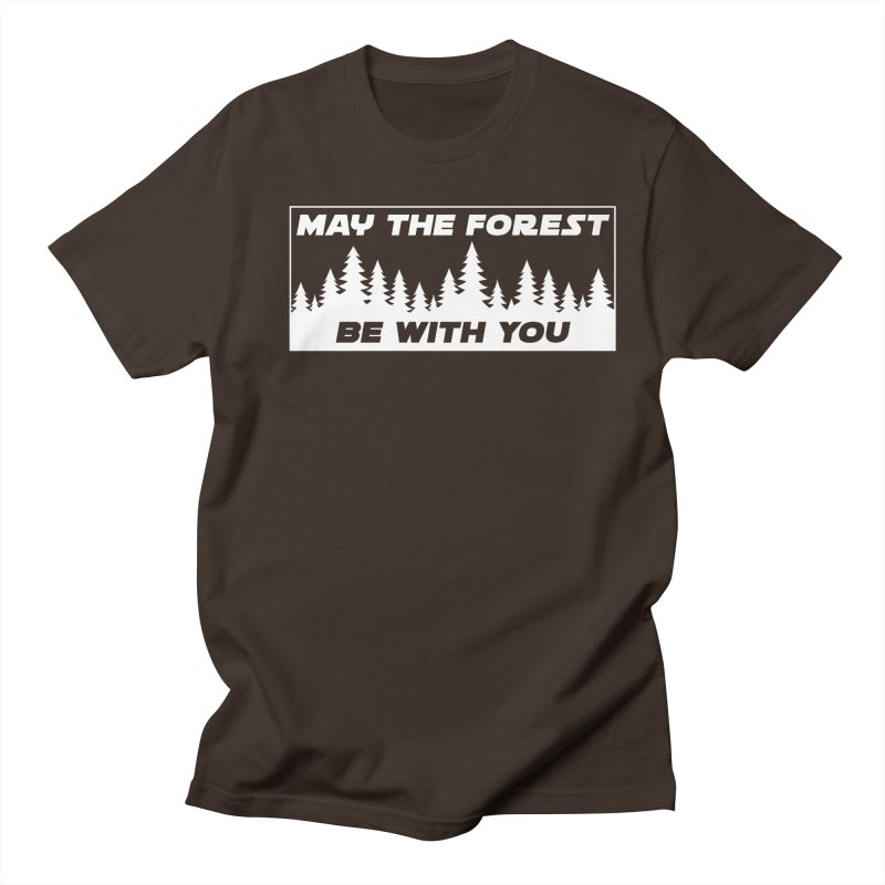 May the Forest Be With You Men's Regular T-Shirt by Geocaching Podcast Store