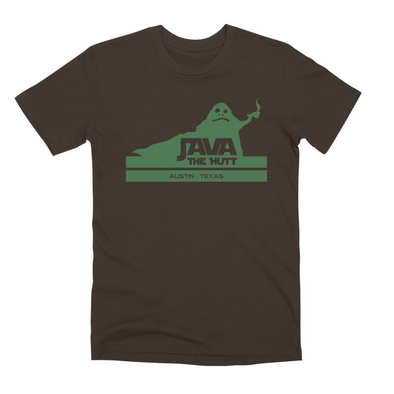 Java the Hutt Coffee House Men's Premium T-Shirt by Geocaching Podcast Store