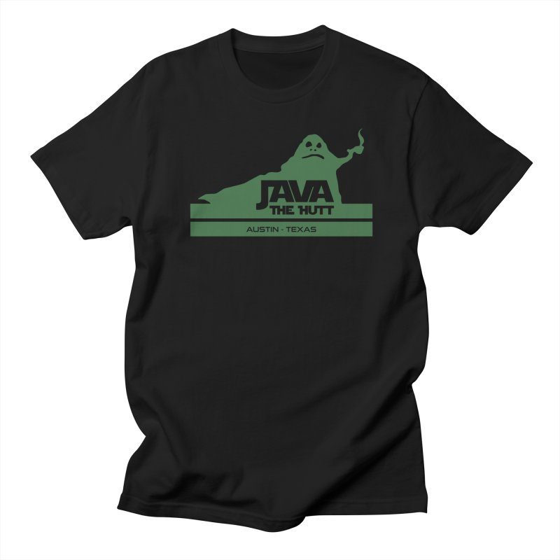 Java the Hutt Coffee House Men's Regular T-Shirt by Geocaching Podcast Store