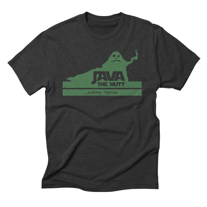 Java the Hutt Coffee House Men's Triblend T-Shirt by Geocaching Podcast Store