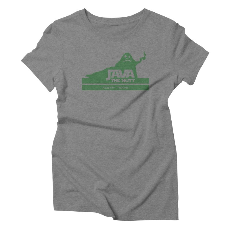 Java the Hutt Coffee House Women's Triblend T-Shirt by Geocaching Podcast Store