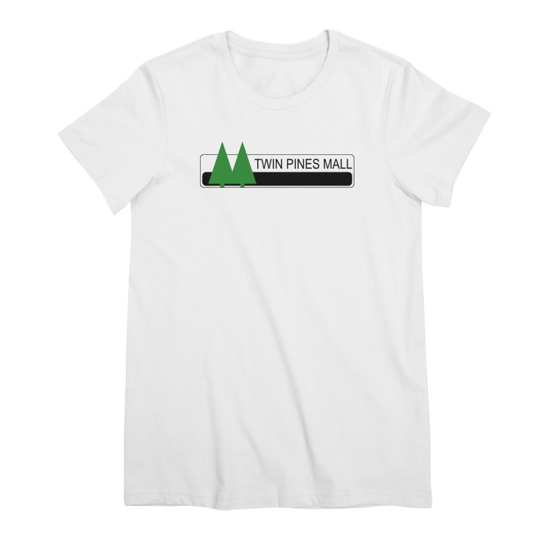 Twin Pines Mall Shirt Women's T-Shirt by Geocaching Podcast Store