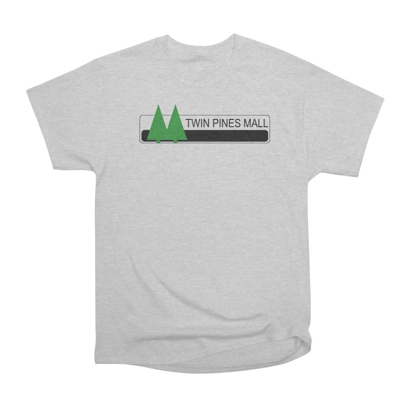Twin Pines Mall Shirt Women's Heavyweight Unisex T-Shirt by Geocaching Podcast Store