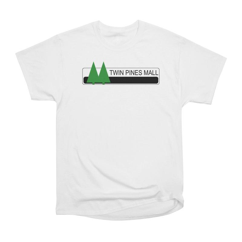 Twin Pines Mall Shirt Women's Heavyweight Unisex T-Shirt by Geocaching Podcast Store