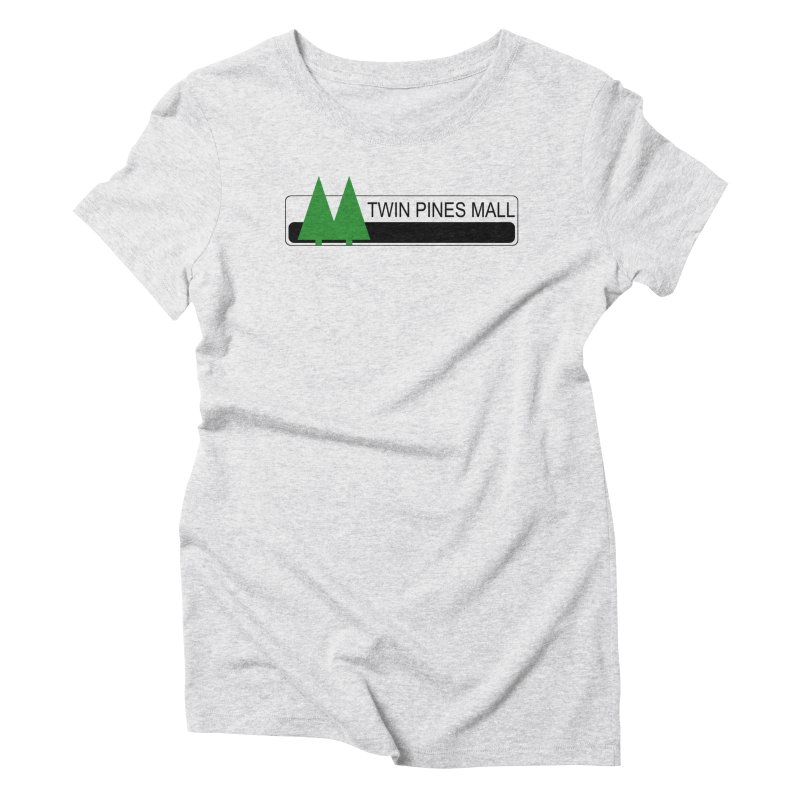 Twin Pines Mall Shirt Women's Triblend T-Shirt by Geocaching Podcast Store