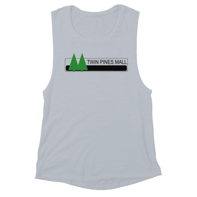 Twin Pines Mall Shirt Women's Muscle Tank by Geocaching Podcast Store