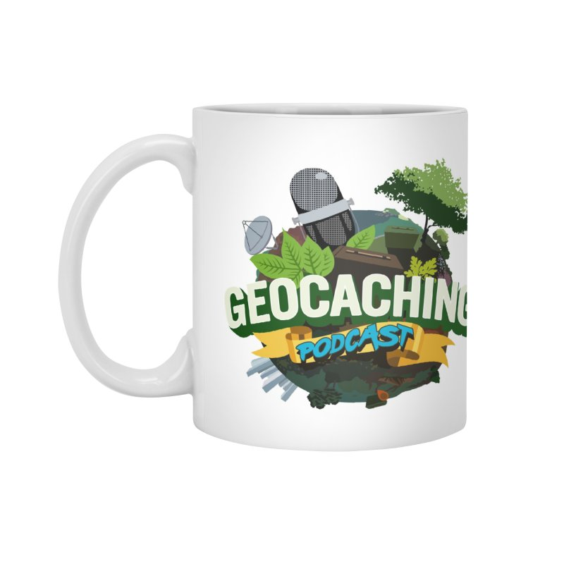 GCPC Logo Accessories Mug by Geocaching Podcast Shop