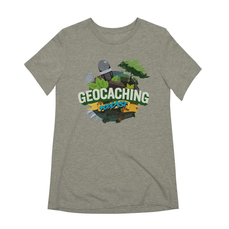 GCPC Logo Women's Extra Soft T-Shirt by Geocaching Podcast Shop