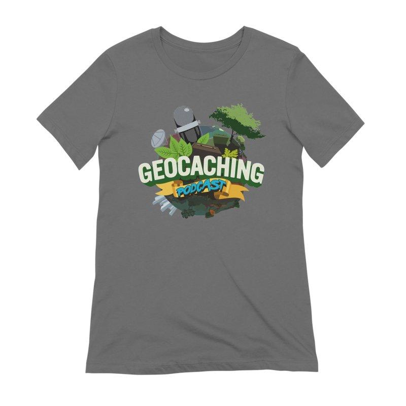 GCPC Logo Women's Extra Soft T-Shirt by Geocaching Podcast Shop