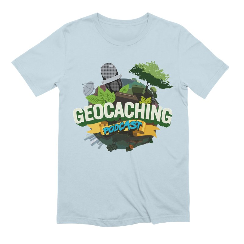 GCPC Logo Men's Extra Soft T-Shirt by Geocaching Podcast Shop