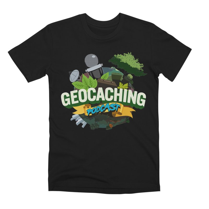 GCPC Logo Men's Premium T-Shirt by Geocaching Podcast Store