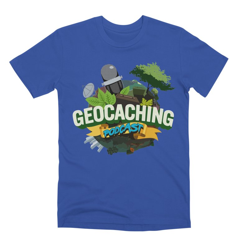 GCPC Logo Men's Premium T-Shirt by Geocaching Podcast Shop
