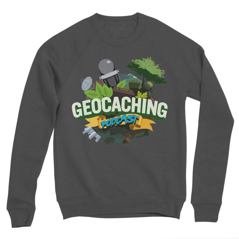 GCPC Logo Men's Sponge Fleece Sweatshirt by Geocaching Podcast Store