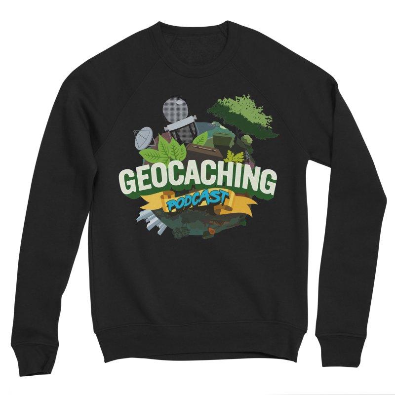 GCPC Logo Men's Sponge Fleece Sweatshirt by Geocaching Podcast Shop