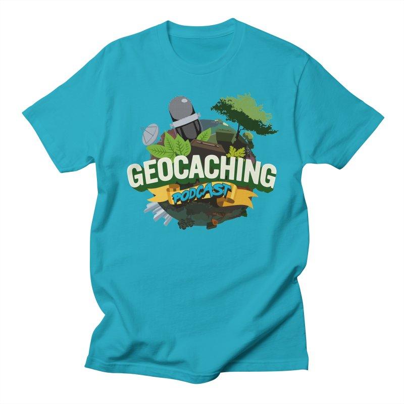 GCPC Logo Men's T-Shirt by Geocaching Podcast Shop