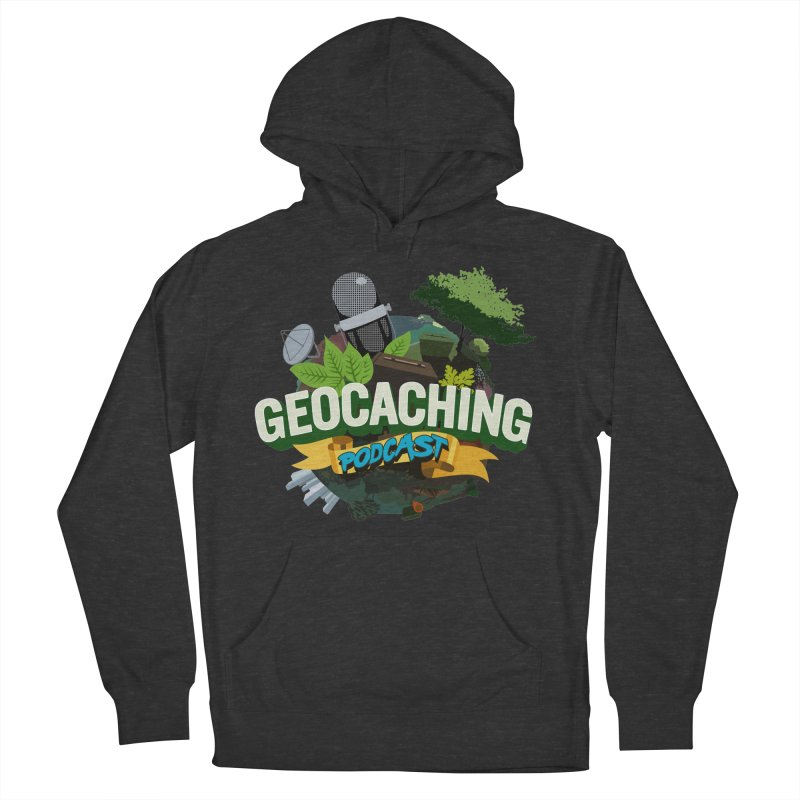 GCPC Logo Men's French Terry Pullover Hoody by Geocaching Podcast Store