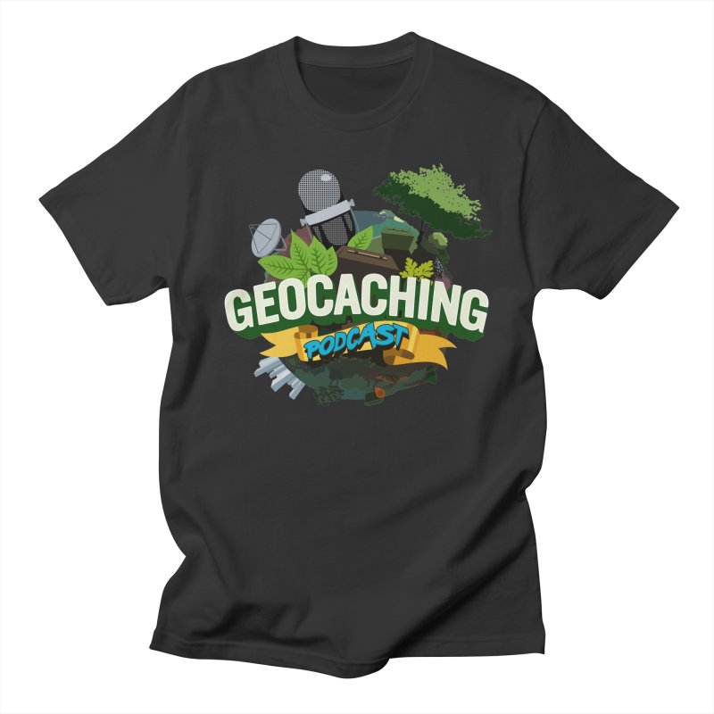 GCPC Logo Men's Regular T-Shirt by Geocaching Podcast Shop