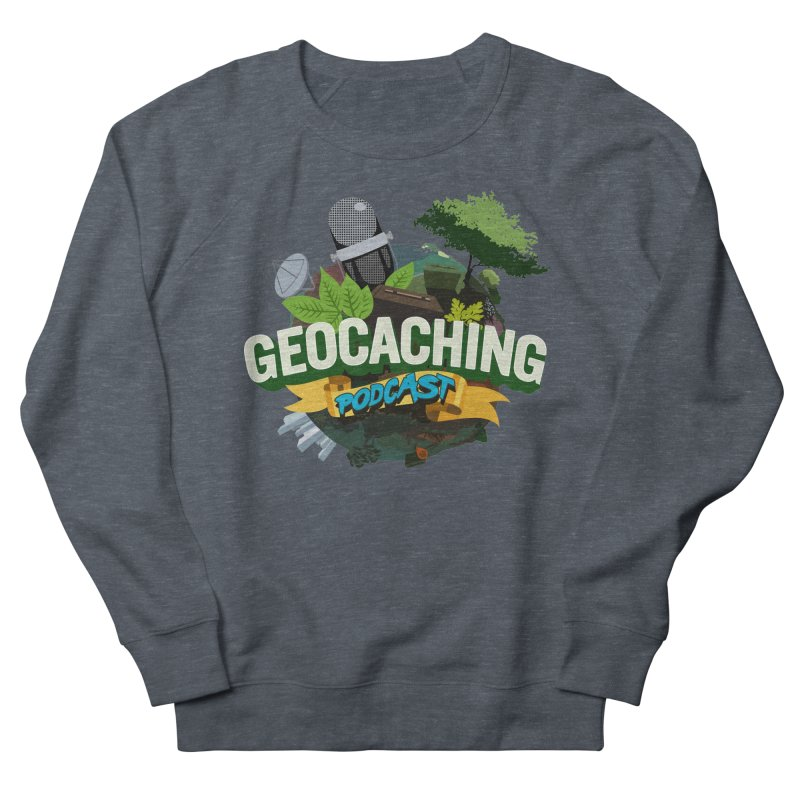 GCPC Logo Men's French Terry Sweatshirt by Geocaching Podcast Store