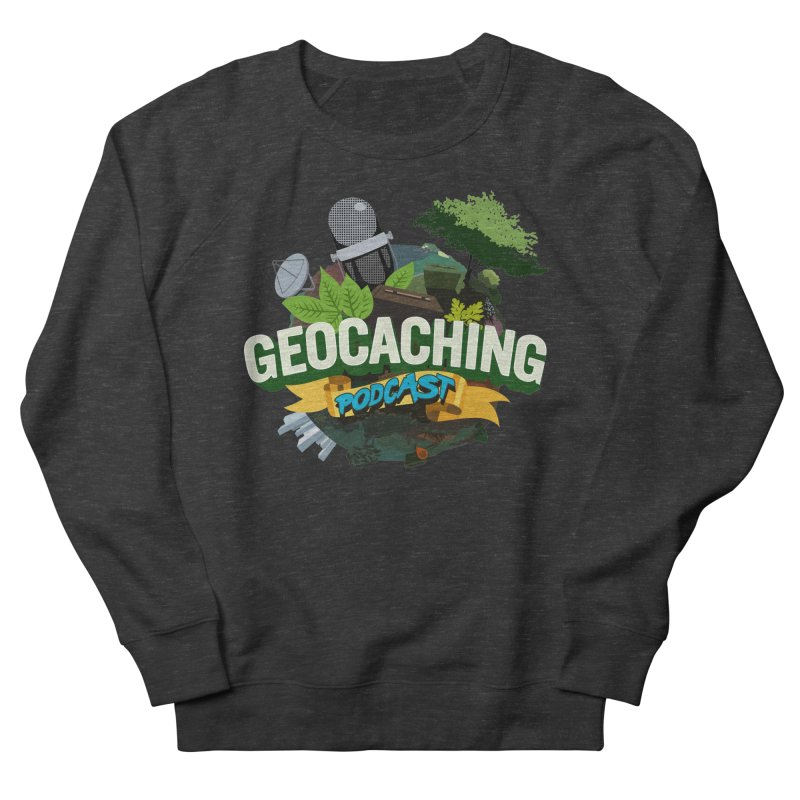 GCPC Logo Men's French Terry Sweatshirt by Geocaching Podcast Shop