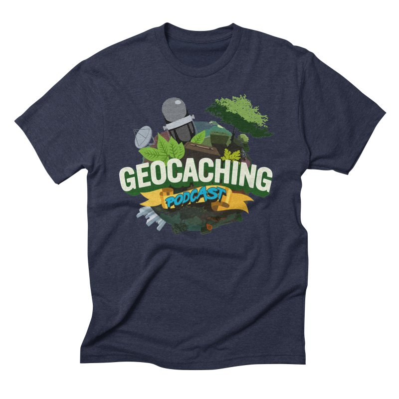 GCPC Logo Men's Triblend T-Shirt by Geocaching Podcast Shop
