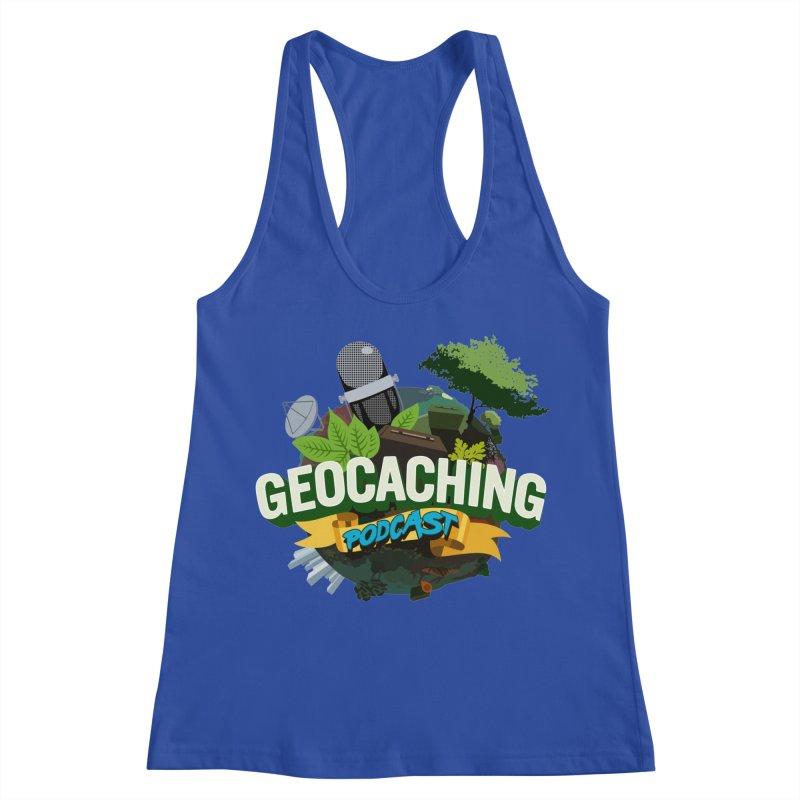 GCPC Logo Women's Racerback Tank by Geocaching Podcast Store