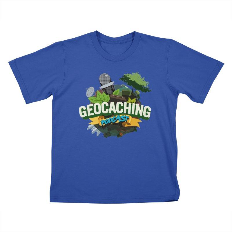 GCPC Logo Kids T-Shirt by Geocaching Podcast Shop