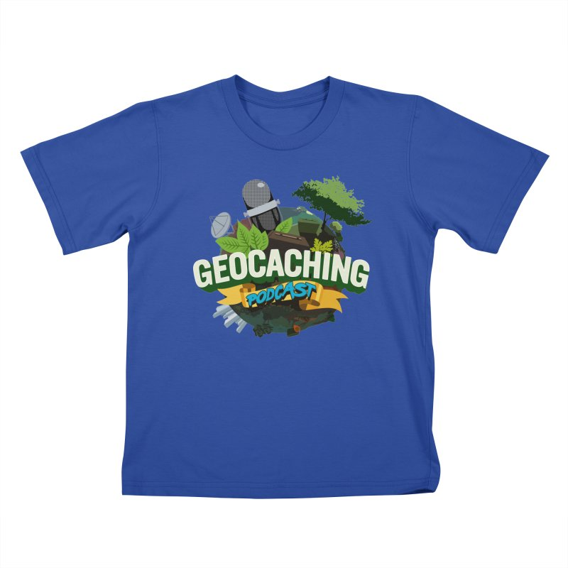 GCPC Logo Kids T-Shirt by Geocaching Podcast Store
