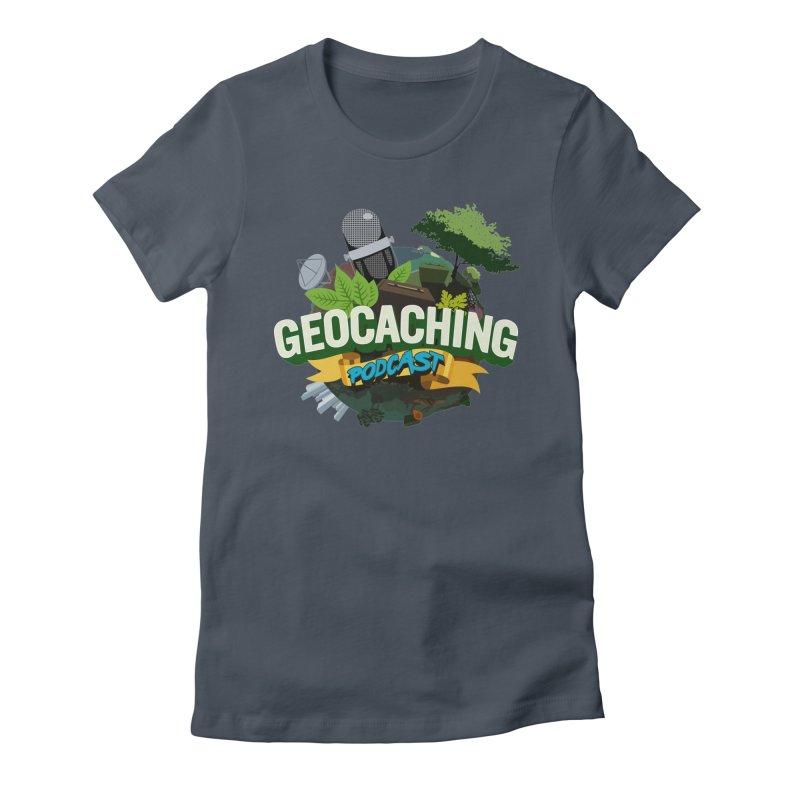 GCPC Logo Women's T-Shirt by Geocaching Podcast Shop