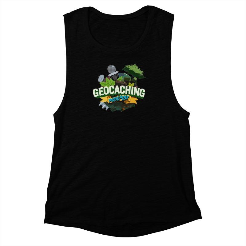 GCPC Logo Women's Muscle Tank by Geocaching Podcast Shop