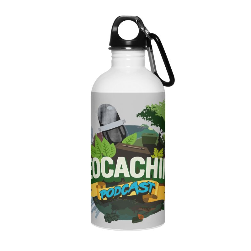 GCPC Logo Accessories Water Bottle by Geocaching Podcast Store