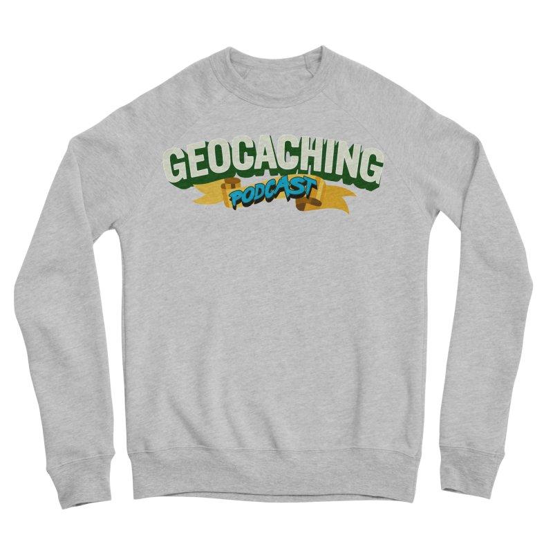 GCPC Logo (Just Text) Men's Sweatshirt by Geocaching Podcast Shop