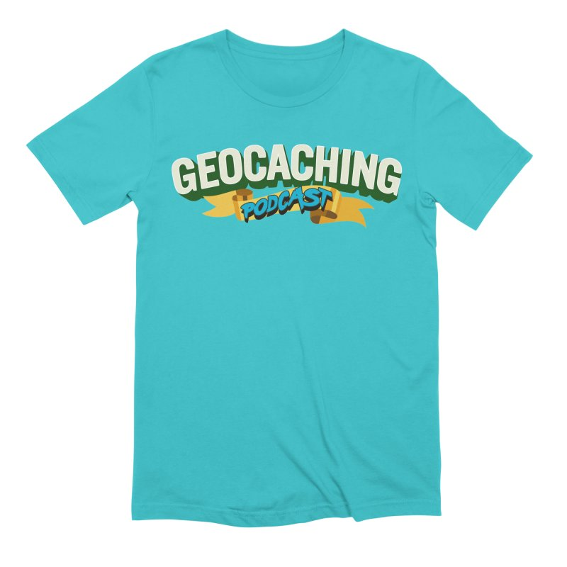 GCPC Logo (Just Text) Men's Extra Soft T-Shirt by Geocaching Podcast Shop