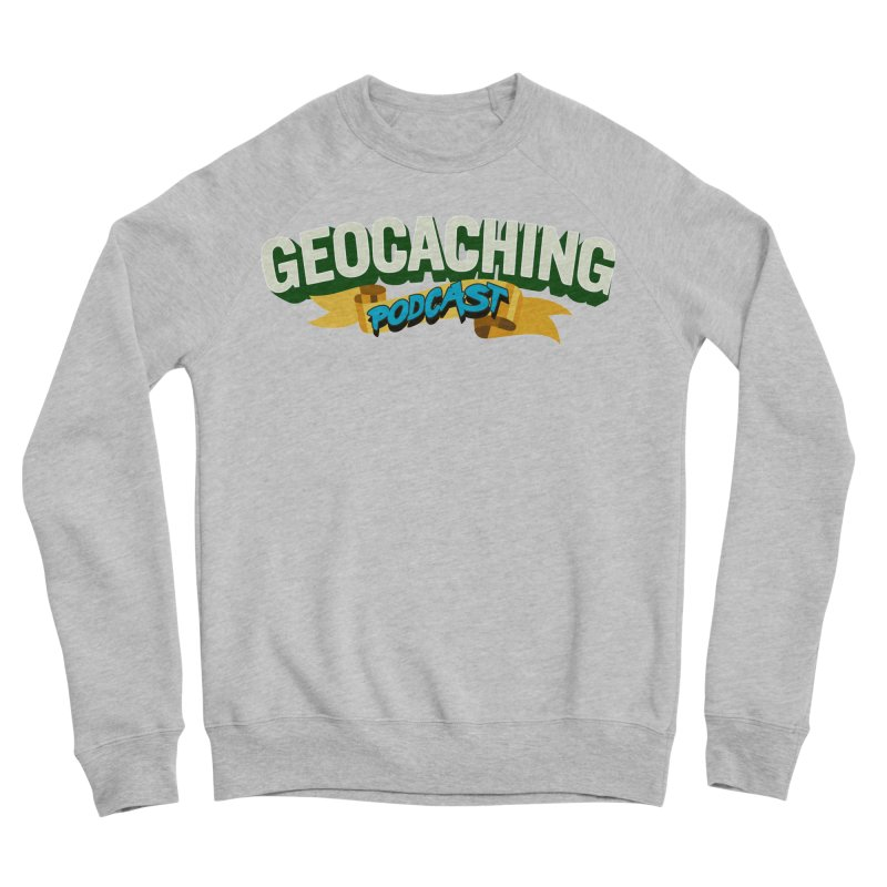 GCPC Logo (Just Text) Men's Sweatshirt by Geocaching Podcast Store