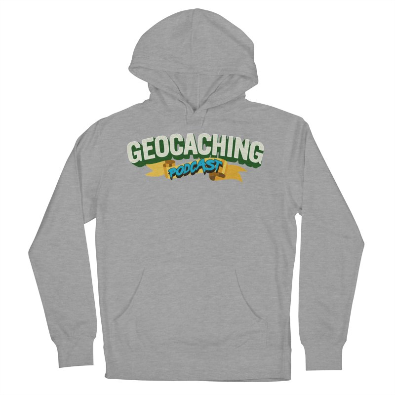 GCPC Logo (Just Text) Men's French Terry Pullover Hoody by Geocaching Podcast Store