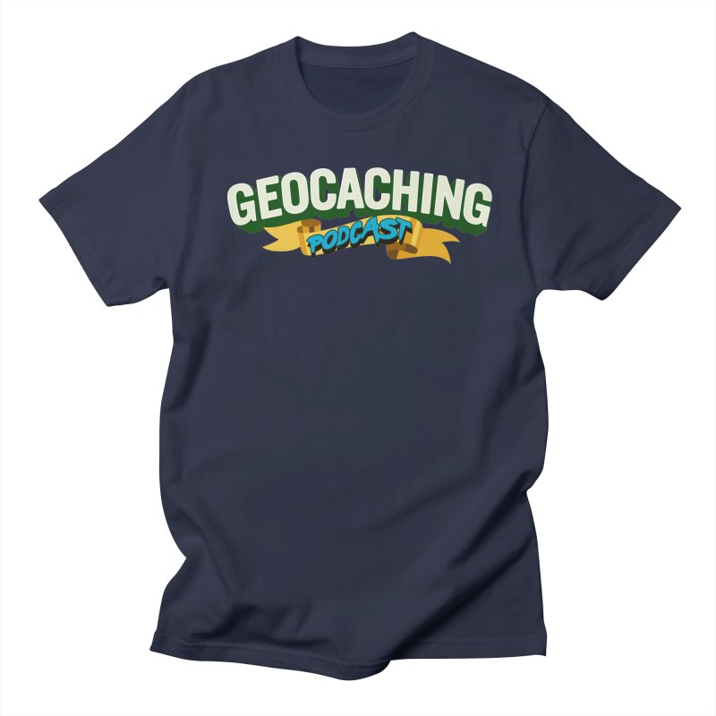 GCPC Logo (Just Text) Men's Regular T-Shirt by Geocaching Podcast Shop