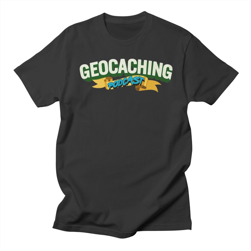 GCPC Logo (Just Text) Men's T-Shirt by Geocaching Podcast Store