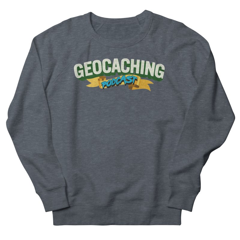 GCPC Logo (Just Text) Men's French Terry Sweatshirt by Geocaching Podcast Shop
