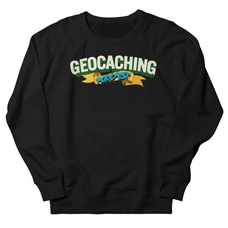 GCPC Logo (Just Text) Men's French Terry Sweatshirt by Geocaching Podcast Store