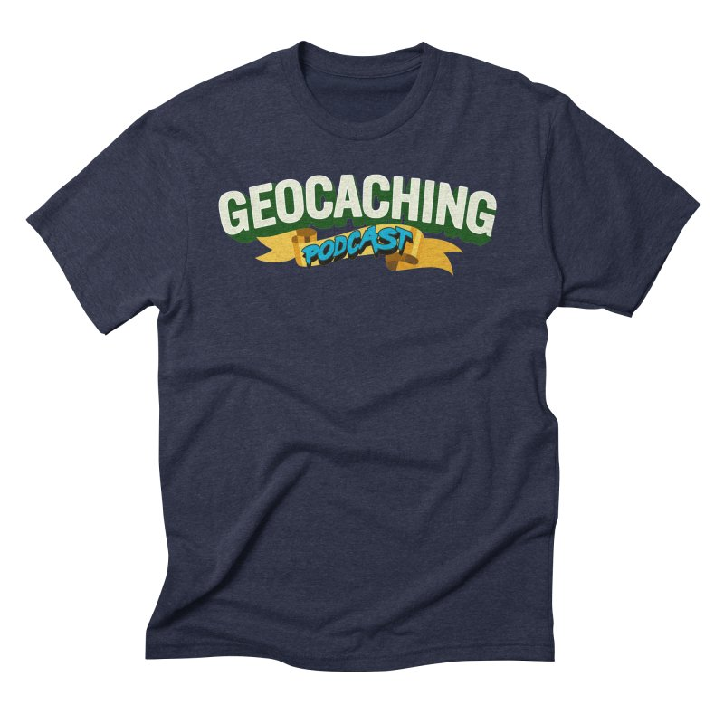 GCPC Logo (Just Text) Men's Triblend T-Shirt by Geocaching Podcast Shop