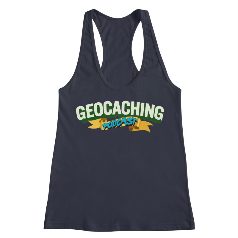 GCPC Logo (Just Text) Women's Racerback Tank by Geocaching Podcast Store