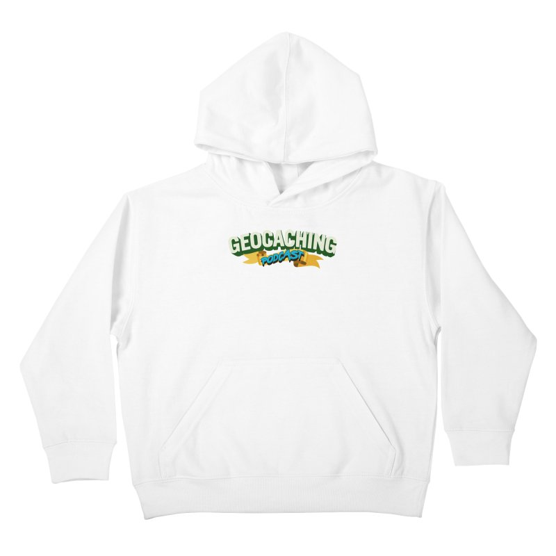 GCPC Logo (Just Text) Kids Pullover Hoody by Geocaching Podcast Store