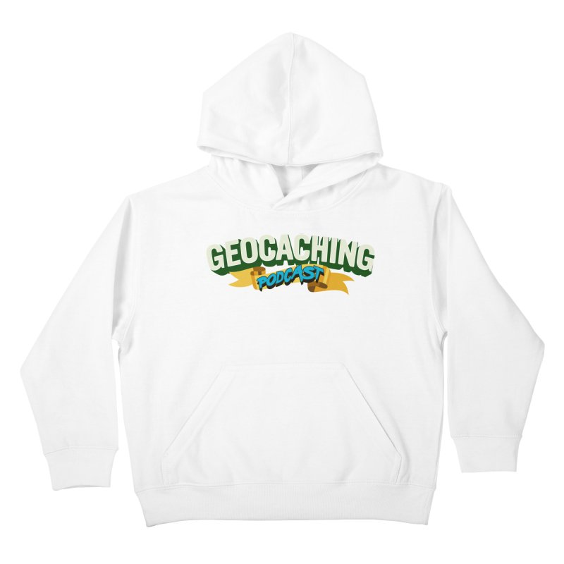 GCPC Logo (Just Text) Kids Pullover Hoody by Geocaching Podcast Shop