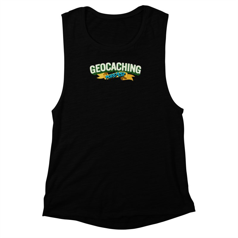 GCPC Logo (Just Text) Women's Muscle Tank by Geocaching Podcast Shop